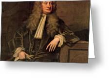 Sir Isaac Newton  Greeting Card by Sir Godfrey Kneller