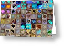 Six Hundred Series Greeting Card by Boy Sees Hearts