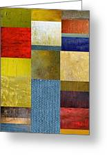 Skinny Color Study Ll Greeting Card by Michelle Calkins