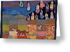 Sky Dancers Greeting Card by Roberta Baker