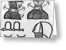 SLAVERY: IRONS, 1807 Greeting Card by Granger