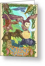 Sleepin Is Giving In Greeting Card by Nelson Dedos Garcia
