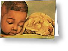 Sleeping Beauties Greeting Card by Curtis James