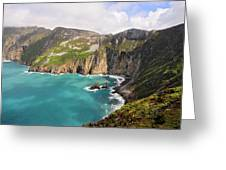 Slieve League Donegal Ireland Greeting Card by Pierre Leclerc Photography