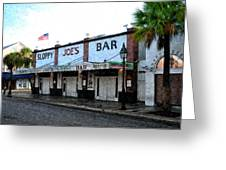 Sloppy Joe's Bar Key West Greeting Card by Bill Cannon