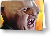 Sloth from Goonies Greeting Card by Brett Hardin