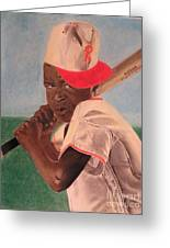 Slugger Greeting Card by Wil Golden