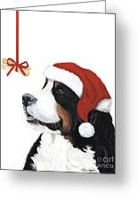 Smile Its Christmas Greeting Card by Liane Weyers