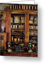 Smoker - Fine Tobacco Products Greeting Card by Mike Savad