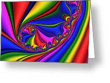 Smoothly Curly 199 Greeting Card by Rolf Bertram