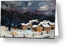 Snow 57 Greeting Card by Pol Ledent