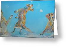 Snow Much Fun Greeting Card by Kimberly Santini