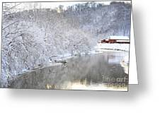 Snow Storm Greeting Card by Joan Powell