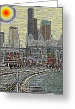Sodo Tracks Greeting Card by Tim Allen