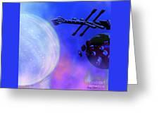 Solar Nexus Greeting Card by Corey Ford
