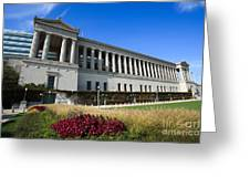 Soldier Field Chicago Bears Stadium Greeting Card by Paul Velgos