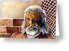 Solitary Greeting Card by Arline Wagner