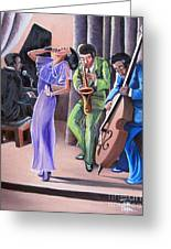 Soul Singer Greeting Card by Toni  Thorne