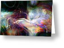 Soul Vibes Greeting Card by Linda Sannuti