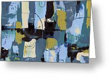 Spa Abstract 2 Greeting Card by Debbie DeWitt