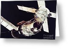 SPACE: SKYLAB 3, 1973 Greeting Card by Granger