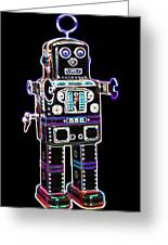 Spaceman Robot Greeting Card by DB Artist
