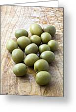 Spanish Manzanilla Olives Greeting Card by Frank Tschakert