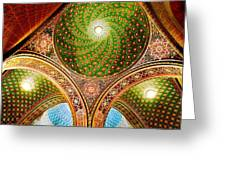 Spanish Synagogue Greeting Card by John Galbo