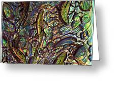 Spawning In Pastel Greeting Card by Diallo House