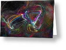 Spell Bound Greeting Card by Michael Durst