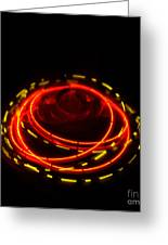 Spinning Top Greeting Card by Balanced Art