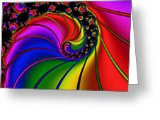 Spiral 124 Greeting Card by Rolf Bertram