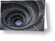 Spiral Staircase Greeting Card by Maico Presente