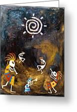 Spirit Dance Greeting Card by Paul Tokarski