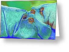 Spontaneous Lethargy Greeting Card by Tracy L Teeter