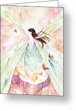 Spring Blossoms Greeting Card by Janet Chui