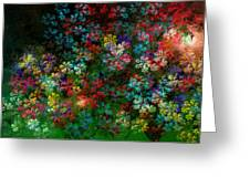 Spring Bouquet Greeting Card by Adam Vance