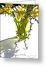 Spring Bouquet Greeting Card by Barb Pearson