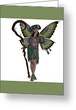 Spring Fairy Greeting Card by Corey Ford
