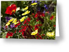 Spring Flowers Greeting Card by Garry Gay
