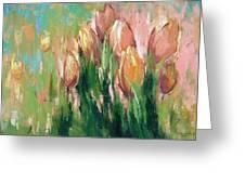 Spring In Unison Greeting Card by Anastasija Kraineva