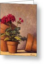 Spring Planting Greeting Card by Rick Hansen