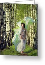 Spring Greeting Card by Vladimir Zotov