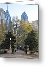 Sprintime At Rittenhouse Square Greeting Card by Bill Cannon