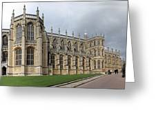 St. George's Chapel Greeting Card by Gary Lobdell