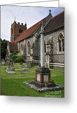 St James The Less Church Greeting Card by Andy Smy
