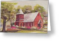St. Mary's Chapel Greeting Card by Charles Roy Smith