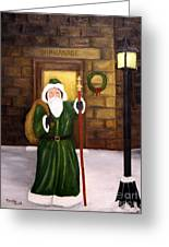 St. Nicholas Greeting Card by Timothy Smith
