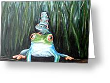 Stacked Greeting Card by Chris Law