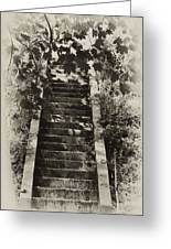 Stairway To Heaven Greeting Card by Bill Cannon
